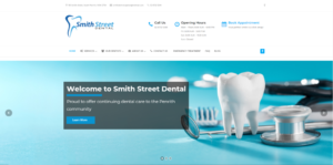 dentist website design